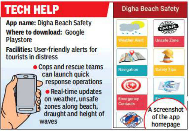 New safety app for visitors: New safety app for visitors to