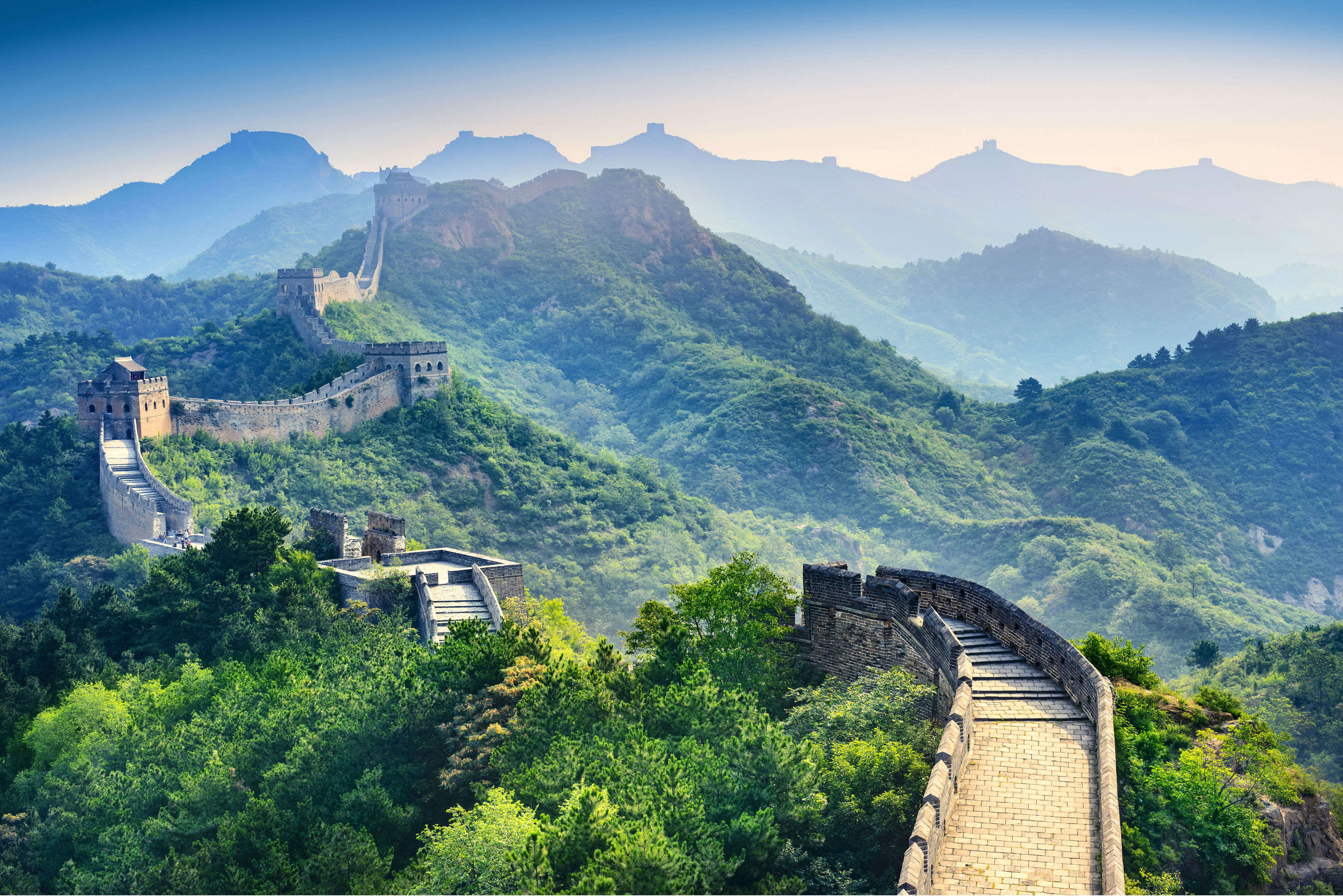 Great Wall of China favoured by Indians among the Seven Wonders of the World
