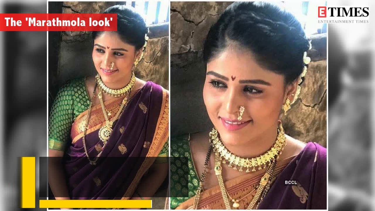 8 dazzling avatars of Marathi TV's 'Desi Girl' Akshaya Deodhar