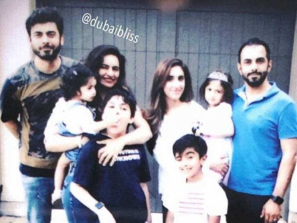 This picture of Fawad Khan with his family is just perfect