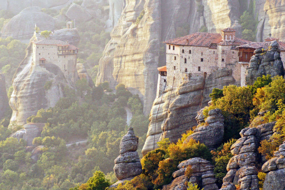 Greece essentials: the curious case of Meteora monasteries