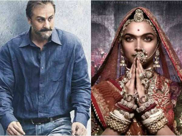 Padmaavat Sanju Lead Nominations For Indian Film Festival Of
