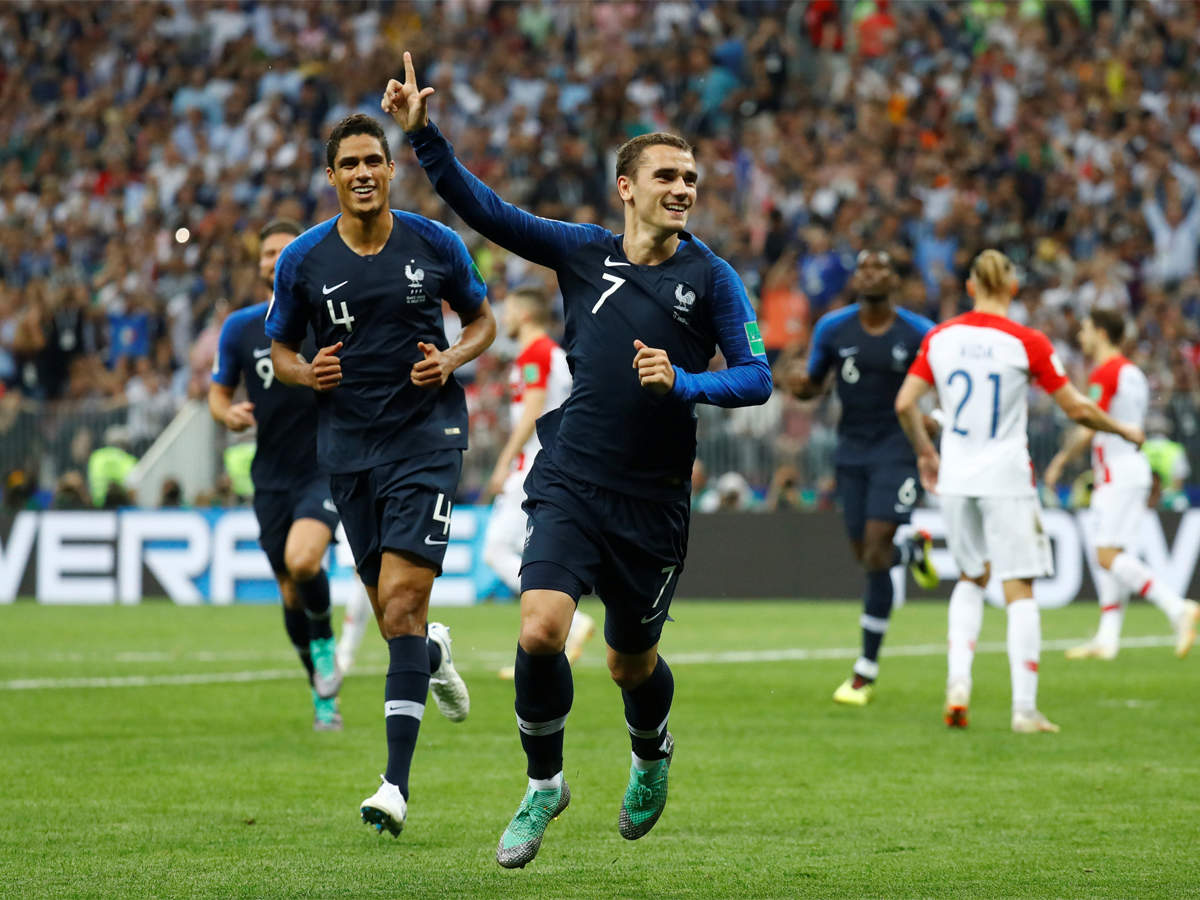 c6353f03f43 France vs Croatia  France beat Croatia 4-2 to win FIFA World Cup after 20  years