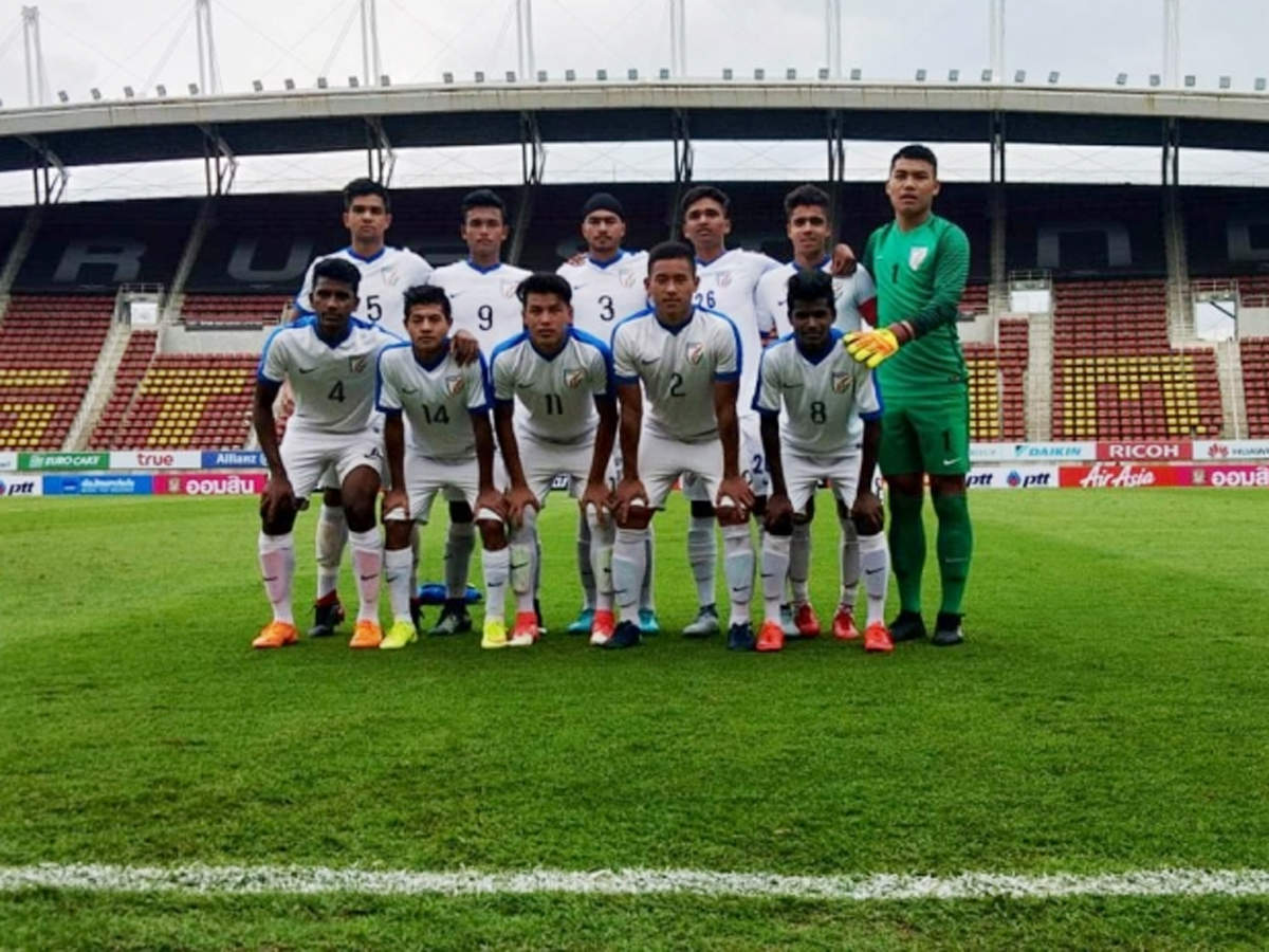 India U-16 football team loses to Thailand