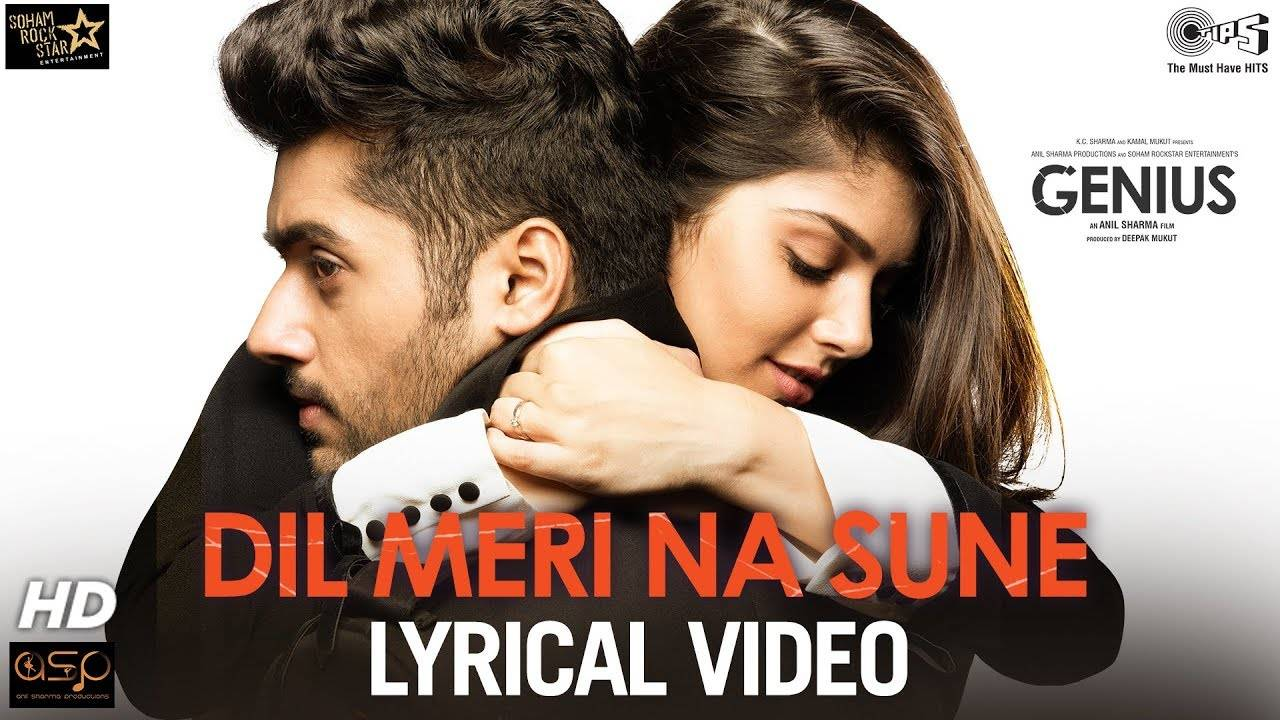 Genius | Song - Dil Meri Na Sune (Lyrical)
