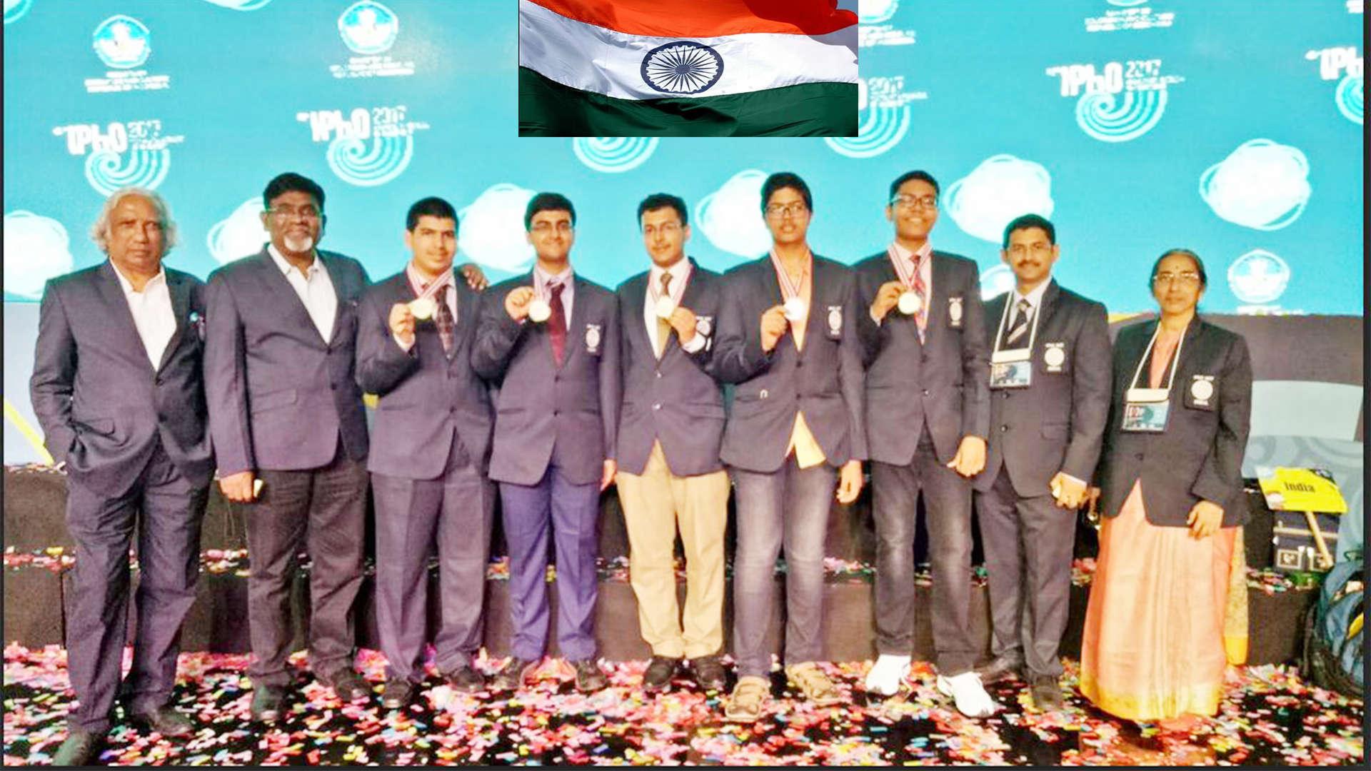 5 participants, 5 gold: India shines at Physics Olympiad