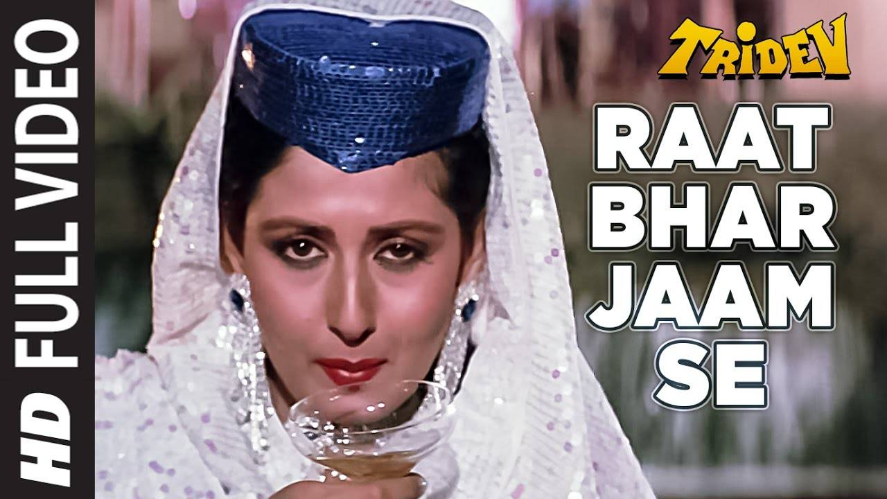 Hindi Song Raat Bhar Jaam Se Sung By Alisha Chinoy