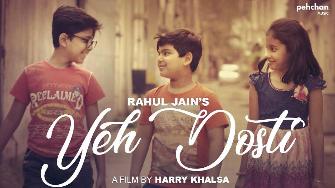 Hindi Song Yeh Dosti Hum Nahi Todenge Sung By Rahul Jain (Unplugged Cover)  | Hindi Video Songs - Times of India