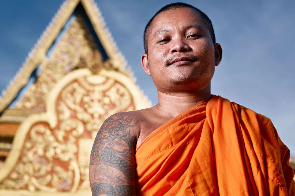Chasing the tattoo monks of Cambodia