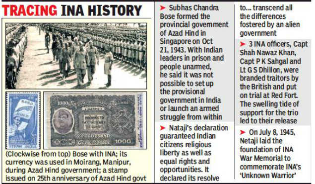 75th anniv of Azad Hind govt: Netaji followers plan to hoist