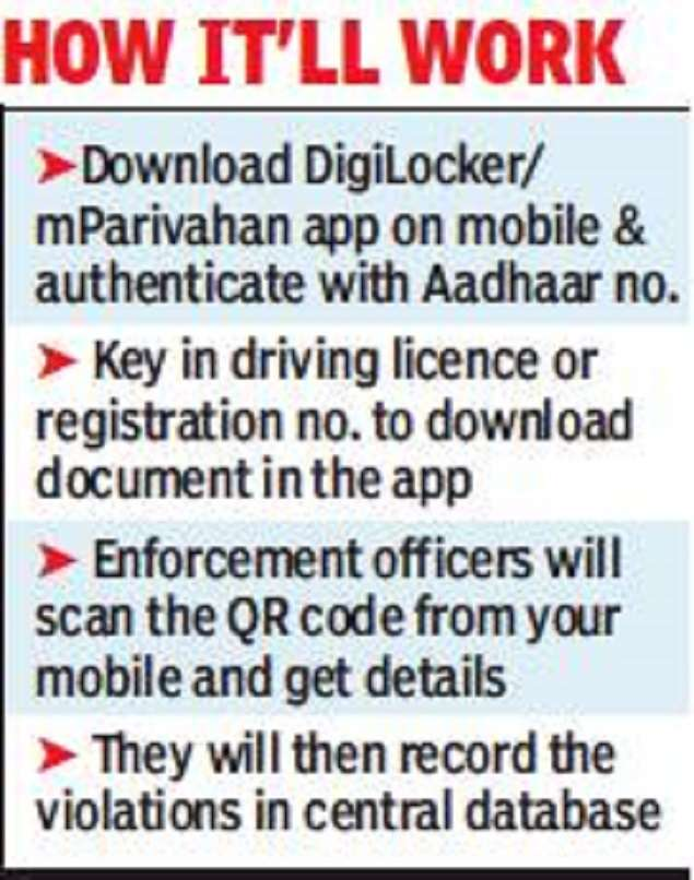 Don't insist on original car papers, cops told   India News