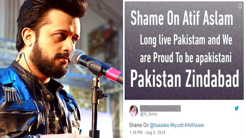 Pakistani singer Atif Aslam faces fire for singing Indian song at Pakistan  Independence Day function in New York