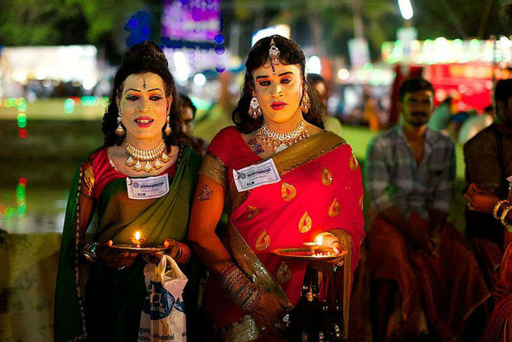 The Kerala temple where thousands of men dress up like women every year