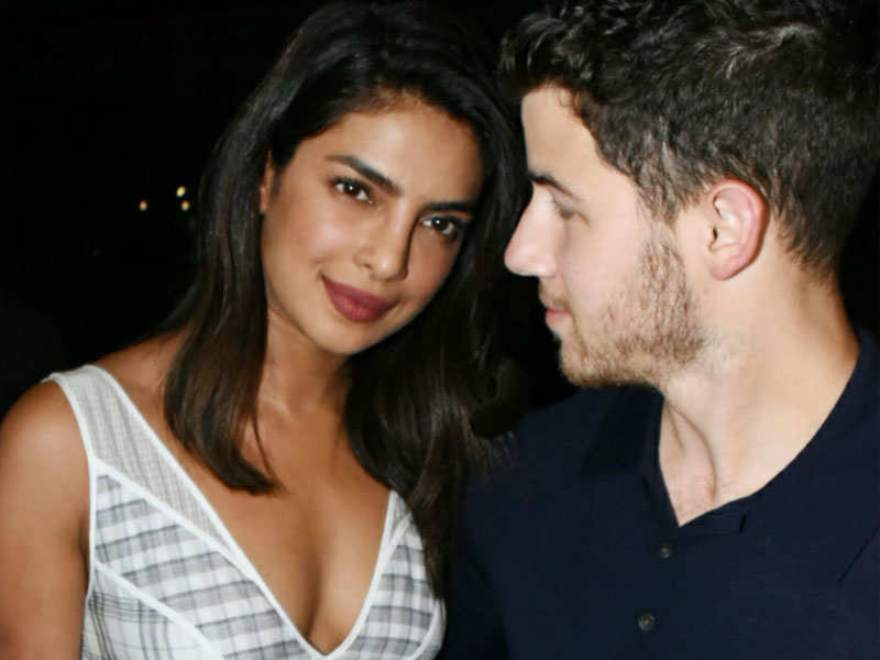 Priyanka Chopra And Nick Jonas Engagement Updates Of The Ceremony Hindi Movie News Times Of India
