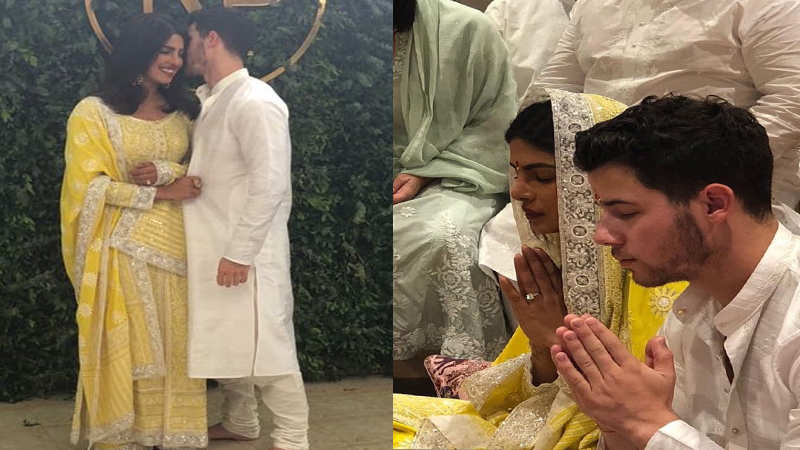 Priyanka Chopra-Nick Jonas engagement: Roka ceremony pictures go viral