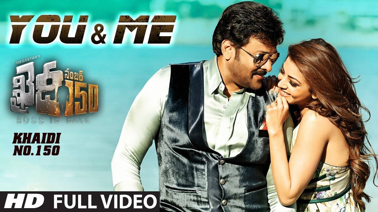 Khaidi No 150 Song You And Me Telugu Video Songs Times Of India
