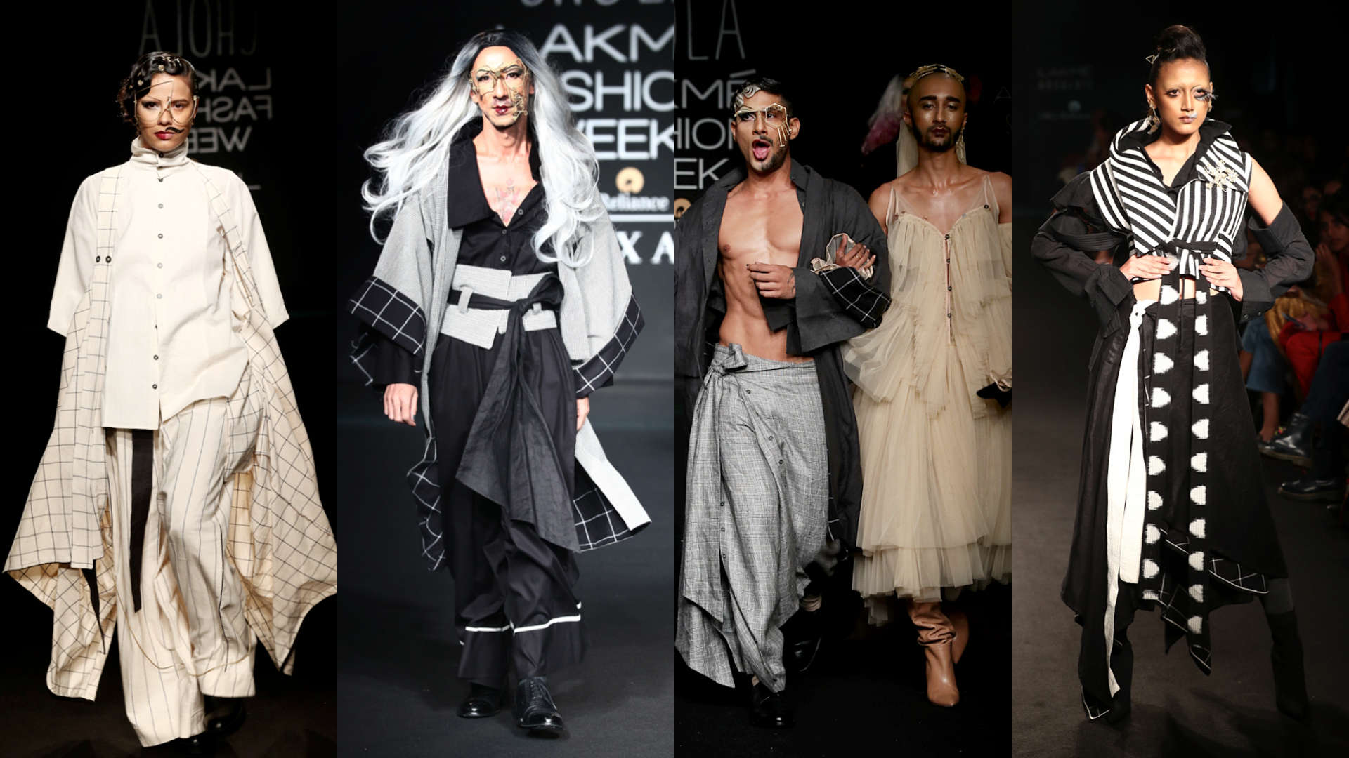 97e752c77b885f Lakme Fashion Week Day 1: Prateik Babbar turns into a drag queen for Chola  the Label, Watch Videos Online | MissKyra Videos