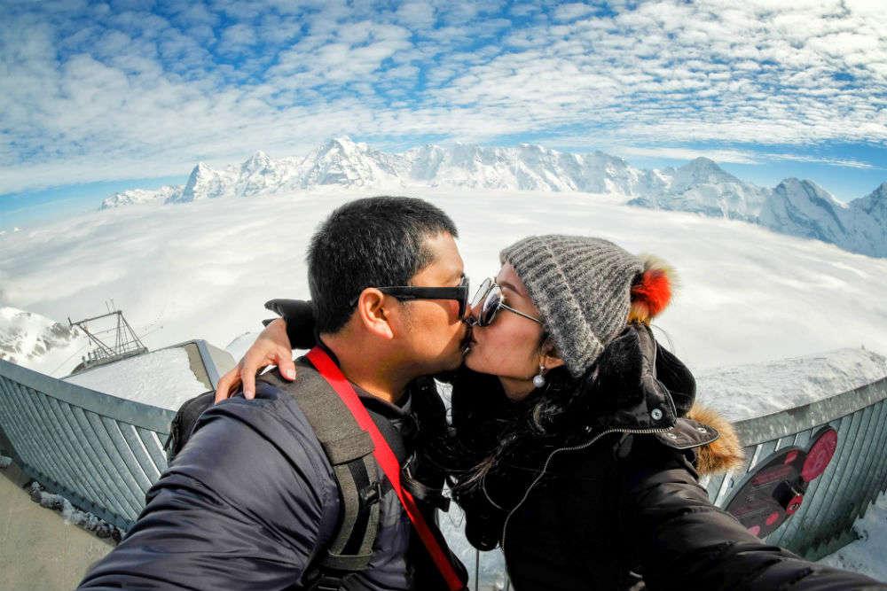 Switzerland ranks as the hottest honeymoon destination for 2018
