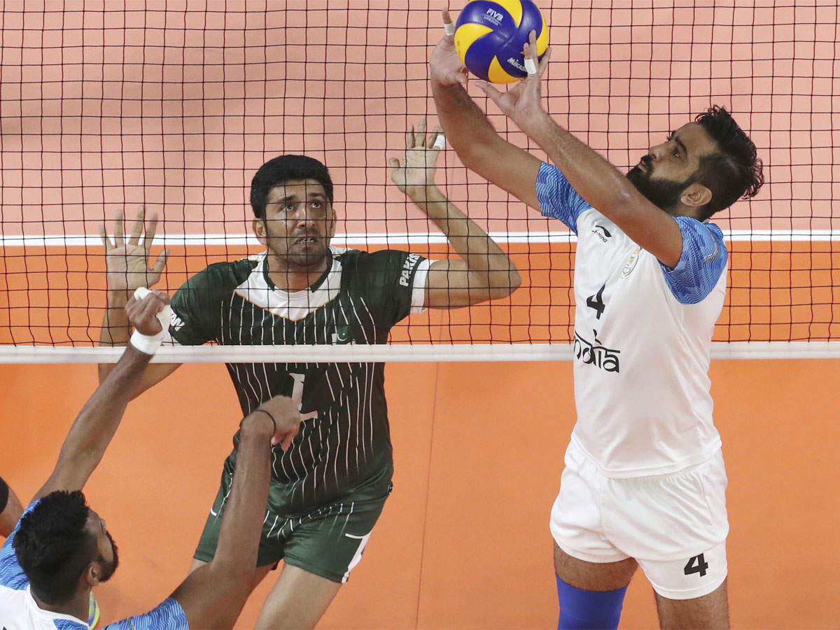 Asian Games India Lose 1 3 To Pakistan In Men S Volleyball Asian Games 2018 News Times Of India