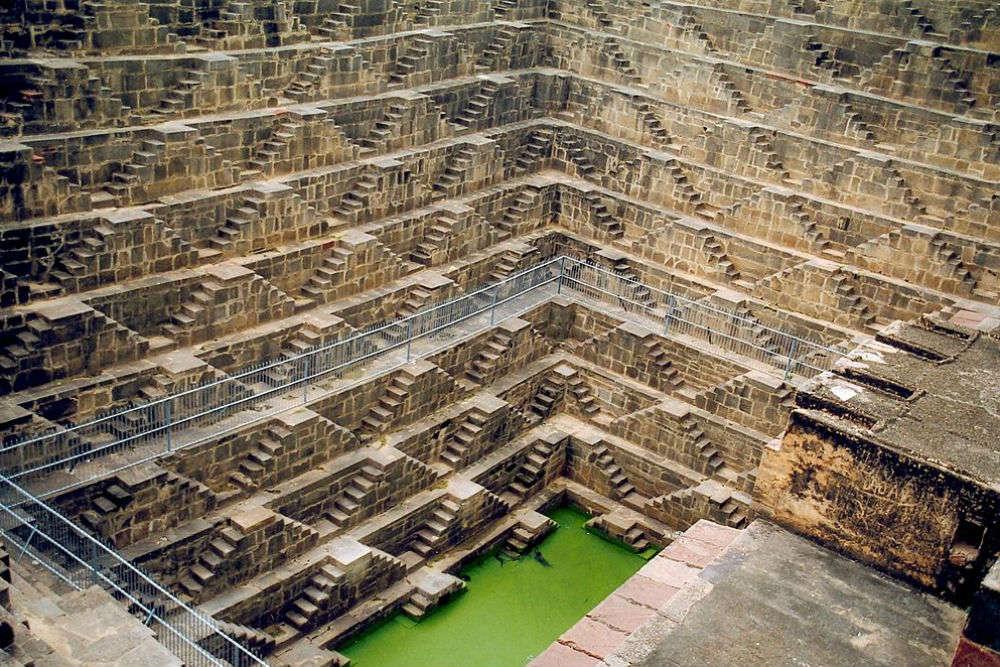 The djinn of Rajasthan's exquisite Chand Baori