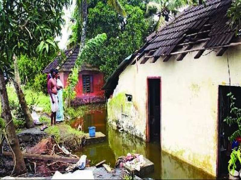Many Kuttanad houses are still under water