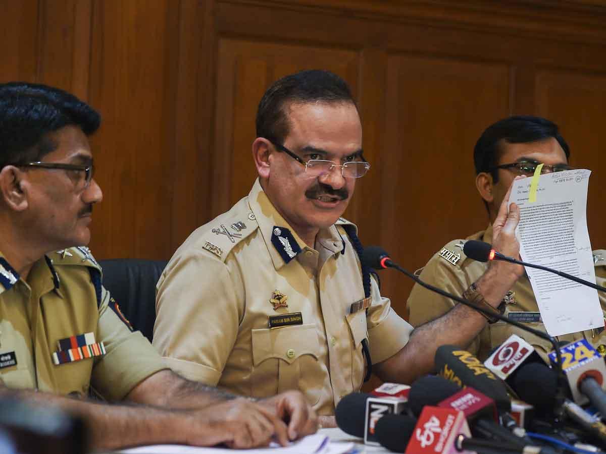 Police make public letter about a Rajiv Gandhi-like incident