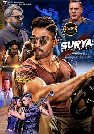 Surya The Soldier (2018) Hindi Dubbed Movie 480p | 720p