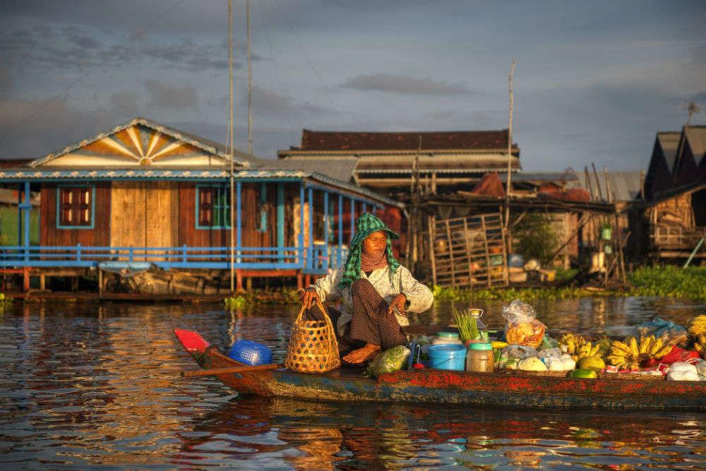 Kompong Phluk, the floating village of Cambodia