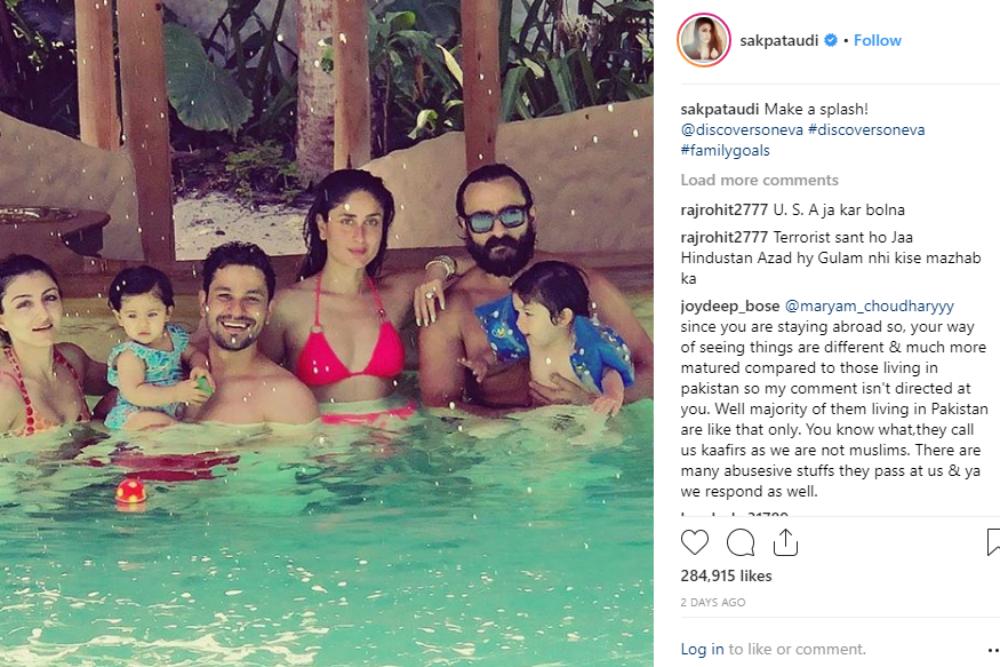 Travel goals: Saif, Kareena and Taimur's vacation in Maldives