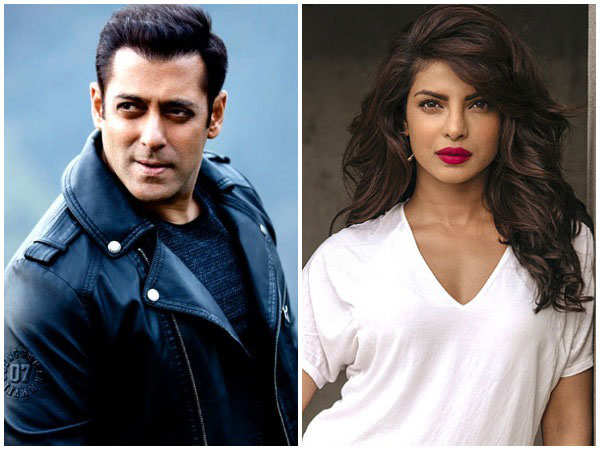 Salman Khan: Maybe Priyanka Chopra doesn't want to work with me anymore - Times of India
