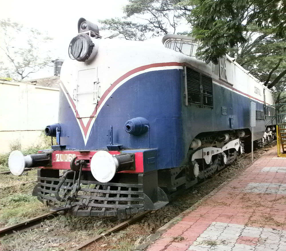 Chennai Rail Museum welcomes you to Chennai Express restaurant