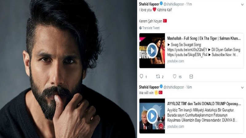 Shahid Kapoor becomes the latest victim of cybercrime as his social media  accounts gets hacked