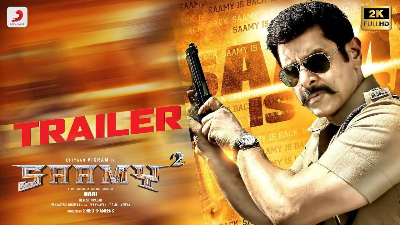 Saamy 2 - Official Tamil Trailer