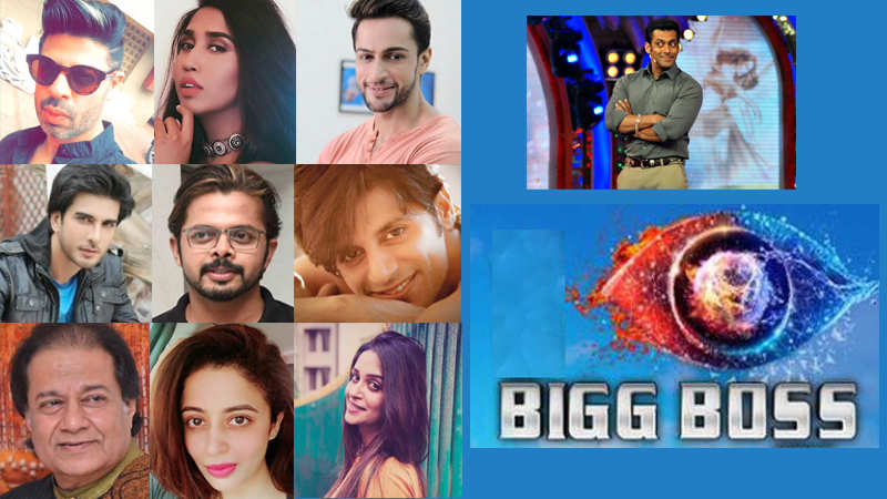 Bigg Boss 12 Celebrity Contestants List Leaked