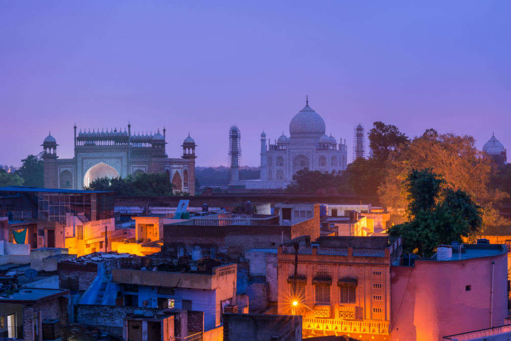 An evening by the Taj—the best bars in Agra