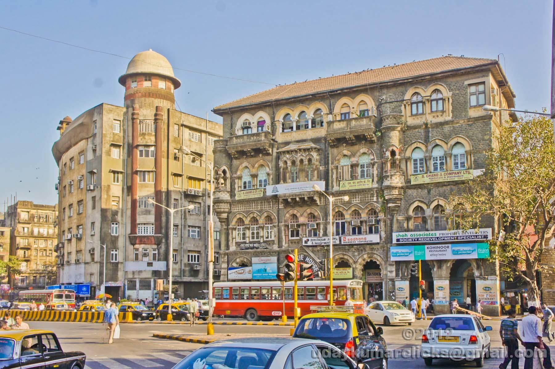 A look into the Fort area of Mumbai
