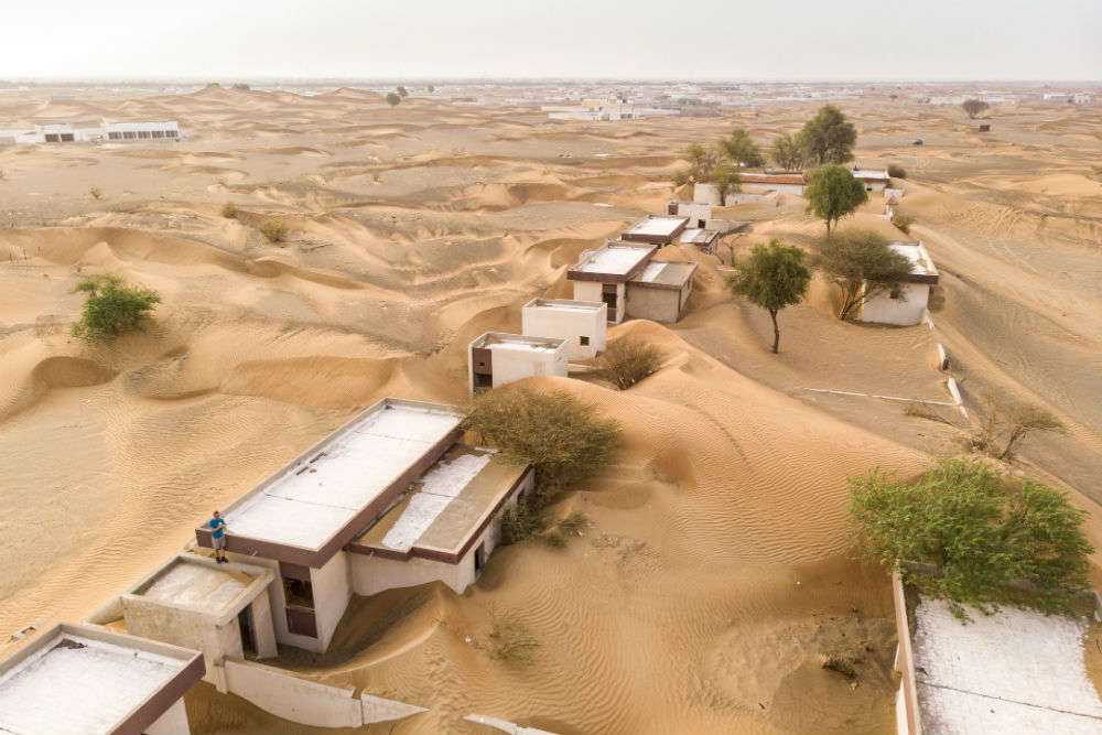 Swallowed by sand—the 'ghost town' of Al Madam in Sharjah, UAE