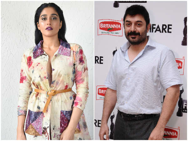 What Does Arvind Swami Regina S Film Title Kallapart Mean Tamil Movie News Times Of India