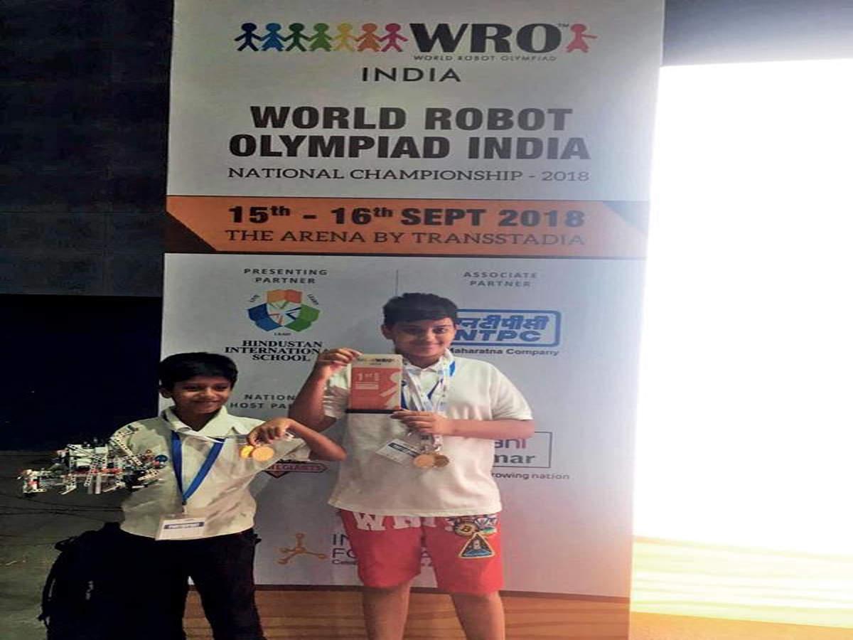 Duo to represent India at World Robot Olympiad | Vadodara