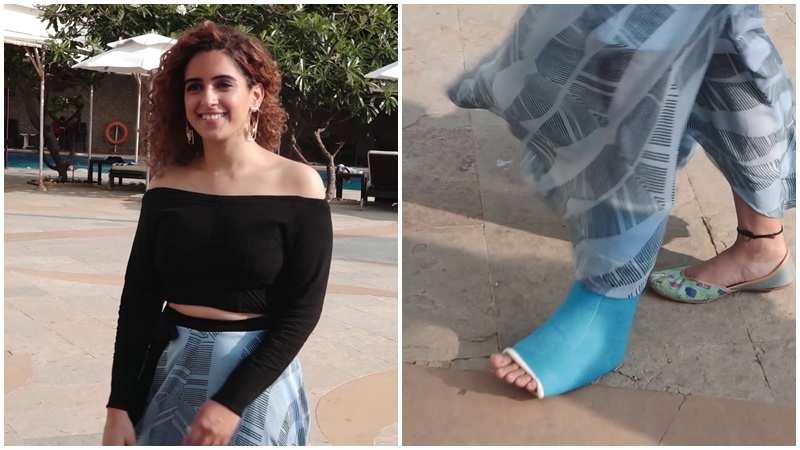 sanya-malhotra-suffers-foot-injury