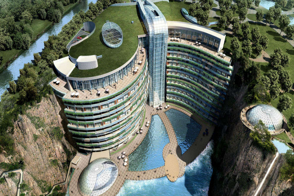 World's first underground hotel soon to open in China