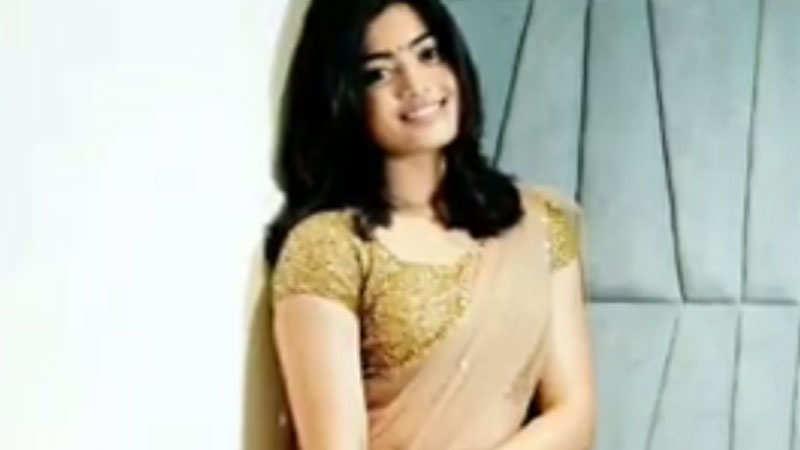 Kannada actress Rashmika Mandanna's stylish looks