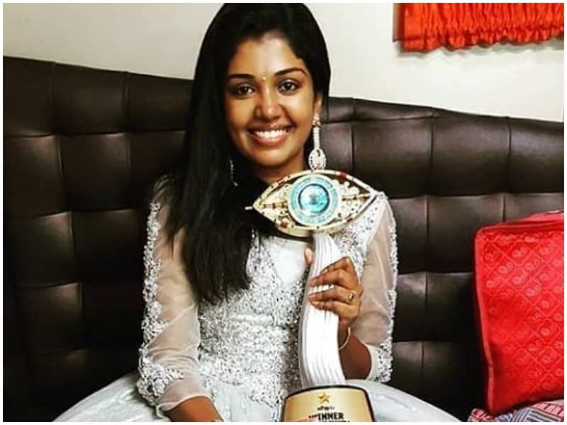 Bigg Boss Tamil 2 Winner: Riythvika wins the title - Tamil