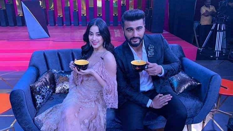 Janhvi Kapoor debuts on 'Koffee with Karan' with brother Arjun Kapoor