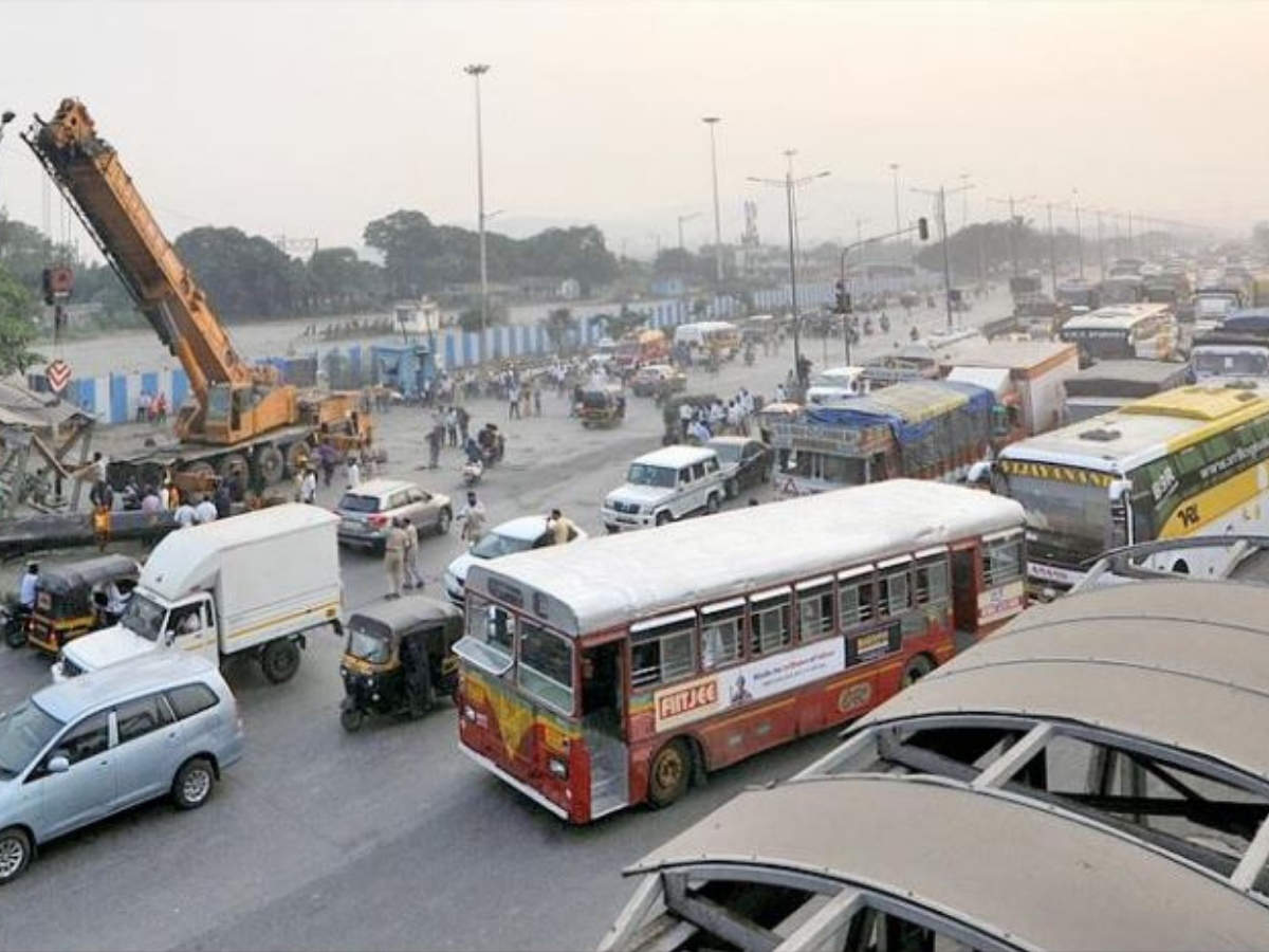 Sion-Panvel highway jam: 5-hour jam on Sion-Panvel highway