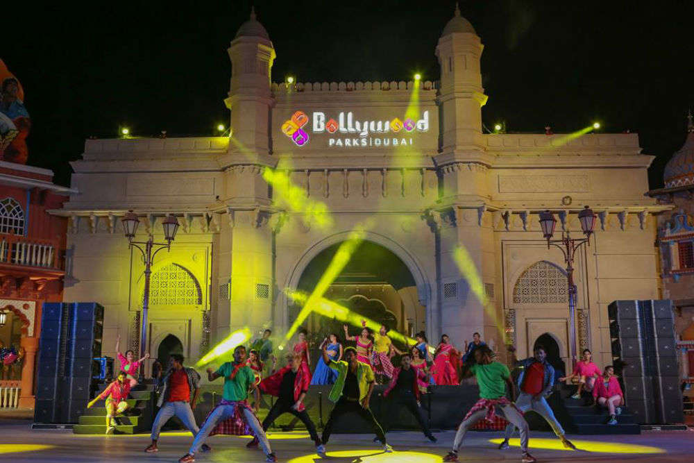 There's a Bollywood Park in Dubai, and it's awesome