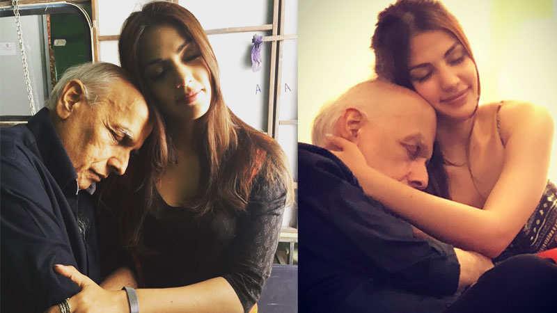 Mahesh Bhatt opens up on his viral pics with Rhea Chakraborty