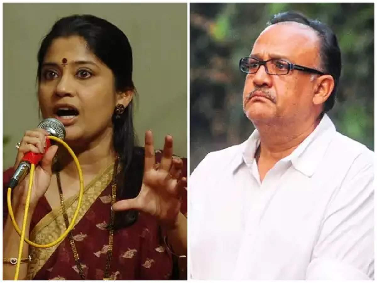 Renuka Shahane says that Alok Nath is a different person when he is drunk - Times of India