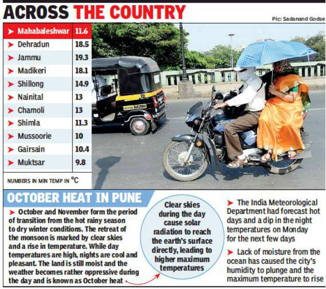 coolest hill stations: Mahabaleshwar 'chills' at 11 6°C, colder than