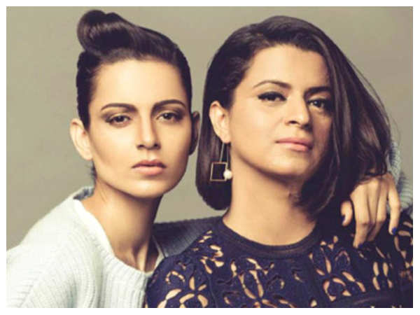 This Is What Kangana Ranaut's Sister Has To Say To People Accusing The Actress Of Speaking For Publicity | Hindi Movie News
